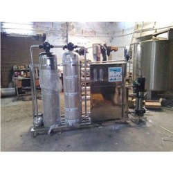 4000 LPH Stainless Steel Water Plant