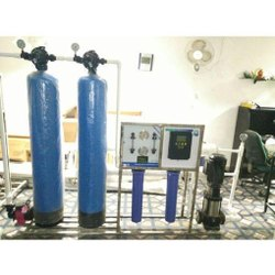 1000 LPH FRP Industrial RO Plant